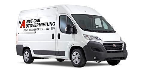 Hansecar Autovermietung Greifswald  Pkw  Lkw Transporter