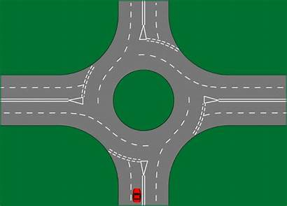 Right Animated Turning Roundabouts Turn Printable System