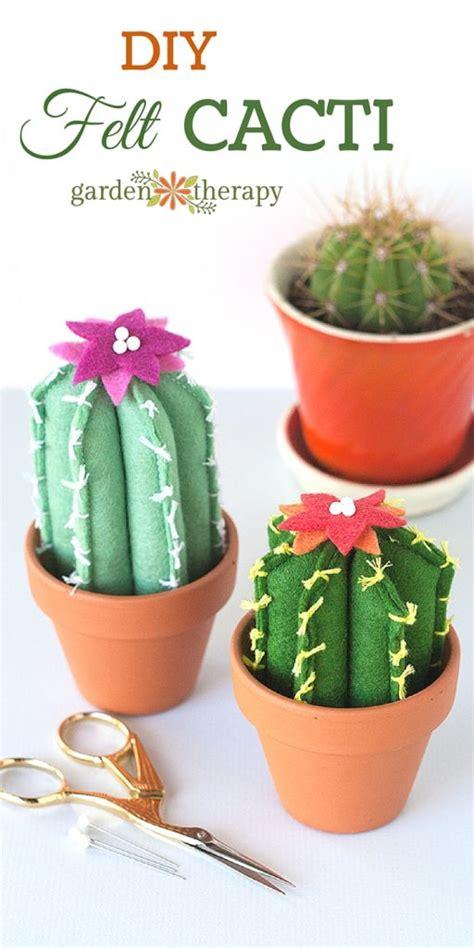 soft  cuddly felt cacti    smile