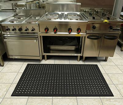 rubber drainage mats  commercial kitchen mats