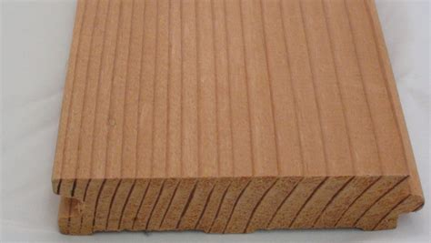 "Douglas Fir Bead Board Standard Grain 5 18"" Face Square Edge"