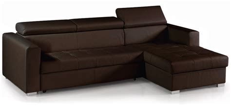 canape simili cuir marron hoze home
