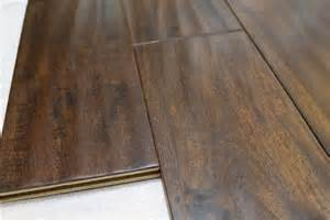 espresso look scraped acacia engineered hardwood flooring