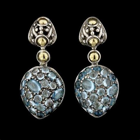 Amazing Blue Topaz Tp 595 vintage estate jewelry s jewelers