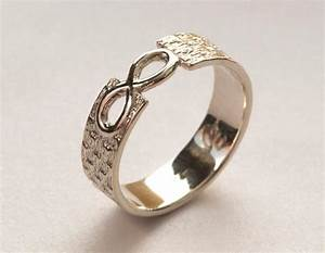 men39s infinity ring white gold infinity ring infinity With mens infinity wedding ring