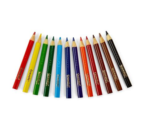 crayola colored pencils assorted colors pre sharpened
