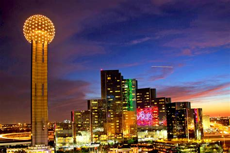 Observation Deck Reunion Tower by Reunion Tower The World Federation Of Great Towers 187 The