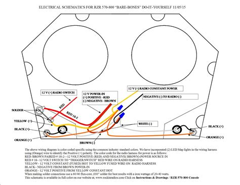 Rzr Instruction Drawings Wiring Diagram