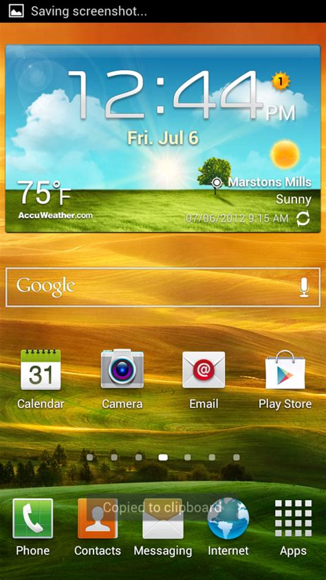 screenshot android how to take a screenshot on the samsung galaxy s3