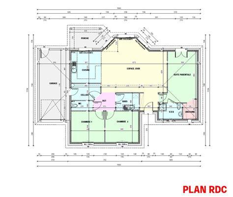 plan chambre parentale plan chambre dressing salle de bain trendy rideau chambre
