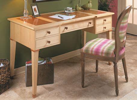 5 Drawer Desk - five drawer desk woodsmith plans