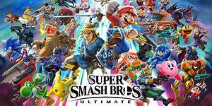 Super Smash Bros Ultimate Don39t Expect Many NEW Characters
