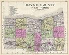 Wayne County New York.: Geographicus Rare Antique Maps