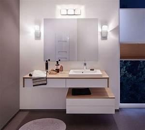 reglette lumineuse salle de bain applique led kilian pr With carrelage adhesif salle de bain avec reglette neon led philips