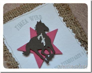 pferdegeburtstag einladung einladungskarten pinterest