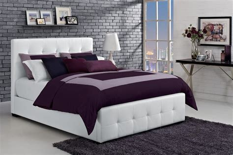 dhp furniture florence upholstered bed