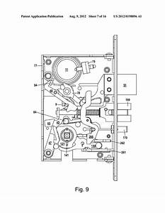Mortise Lock Diagram