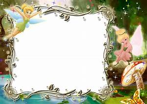 Kids Transparent Photo Frame with Tinkerbell | Crafting ...