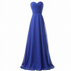 buy royal blue bridesmaid dresses weddings long party With blue dresses for weddings