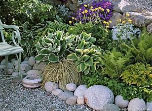 Plante De Bordure : 8 bordures pratiques et charmantes bordure galets et jardins ~ Preciouscoupons.com Idées de Décoration