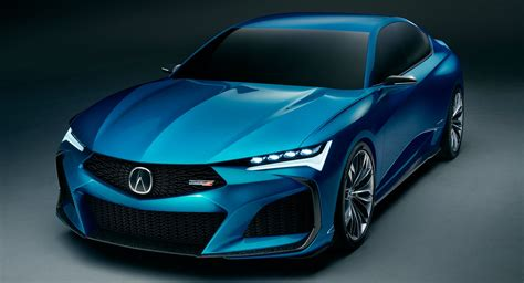 acura tlx type s acura type s concept is a sensuous preview of the upcoming