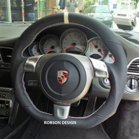 Porsche 997 Steering Wheel by Porsche 997 Sports Steering Wheel Robson Design Carbon