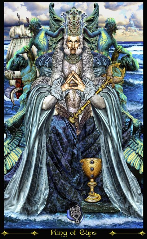 King And Of Illuminati by King Of Cups Revised Tarot Illuminati Elric2012 On
