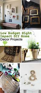 Low, Budget, Hight, Impact, Diy, Home, Decor, Projects
