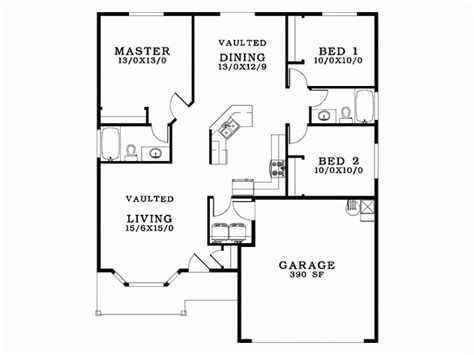 blue prints for a house eplans bungalow house plan a small footprint packed with