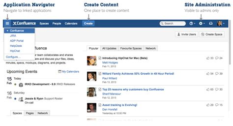 confluence templates confluence 5 0 release notes confluence atlassian documentation