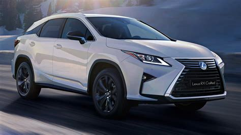 News - Lexus RX Gains 'Crafted' Special Edition, $81k Upwards