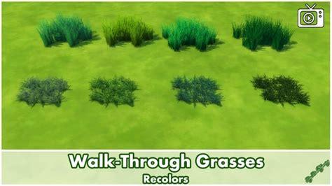 walk  grasses  bakie  mod  sims sims  updates