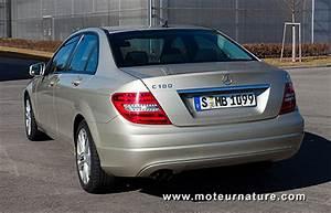 Mercedes C180 Essence : une nouvelle mercedes essence tr s sobre ~ Medecine-chirurgie-esthetiques.com Avis de Voitures