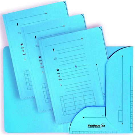 trieur bureau elba lot de 25 sous dossiers hv bleu 23 5 x 31 5