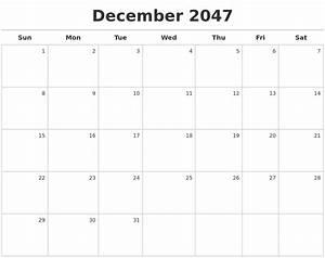 January 2048 Printable Calender