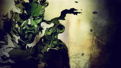 Gear Solid Snake Metal Parede Papel Yoji