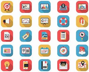 Flat Icons - SEO AND Web Icons by CURSORCH on DeviantArt