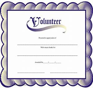 11 volunteer certificate templates sample templates With volunteer appreciation certificates free templates