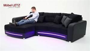 Couch Led : laredo von jockenh fer sofa mit led beleuchtung und ~ Pilothousefishingboats.com Haus und Dekorationen