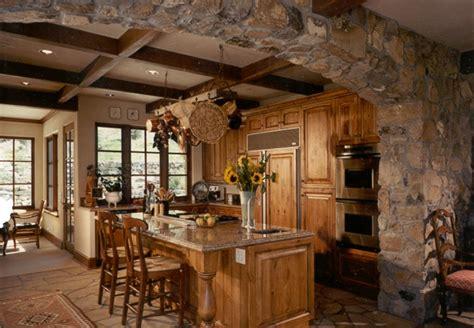 mountain lodge lodge style kitchen
