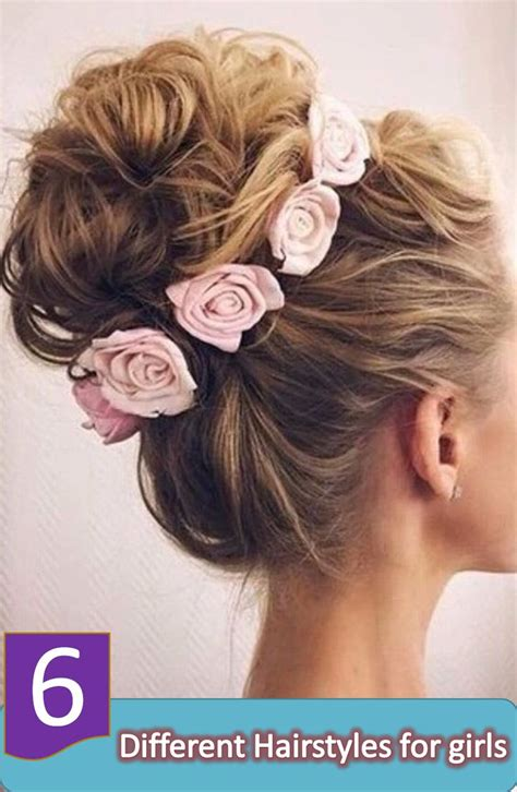different hair updo styles 6 unique and different hairstyles for for a