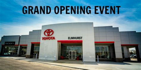 Toyota Dealership Chicago by Grand Opening Of The New Elmhurst Toyota Scion Dealership