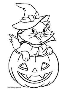 coloriage sorciere sur son balai halloween sorcieres