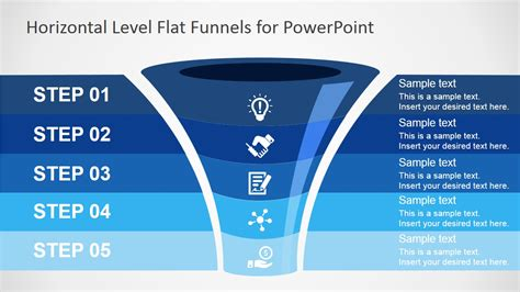 funnel diagram powerpoint template periodic