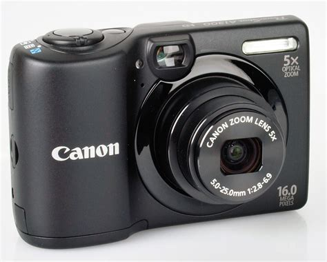 Canon Powershot A1300 Digital Camera Review