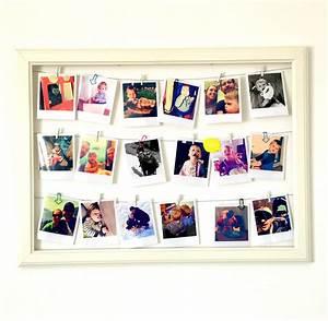 Polaroid Bilder Bestellen : diy bilderrahmen mit polaroids ~ Orissabook.com Haus und Dekorationen
