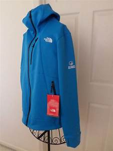 Bnwt The North Face Mens Hoodie Jacket Snorkle Steep Series Blue M With Tumbhole