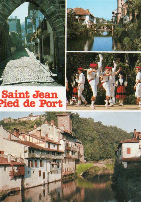 cartes postales de jean pied de port