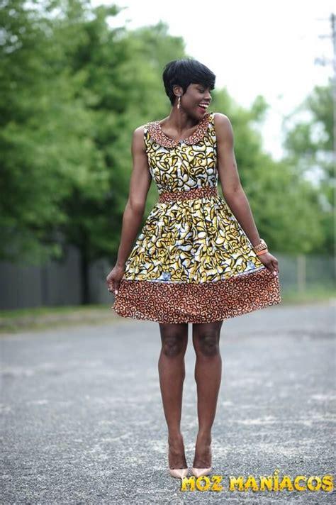 vestidos curtos capulana mmo
