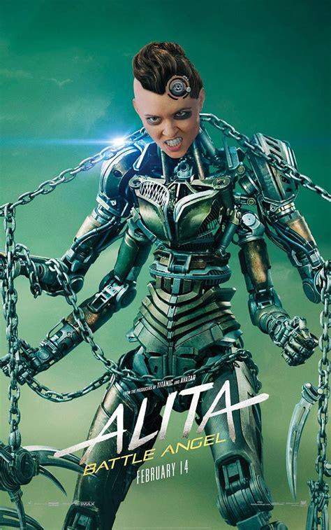 alita  character posters hero collector